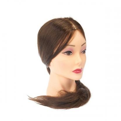 """Изображение Голова-манекен """"PROFI line"""", протеиновые волосы, 55-60 см."""