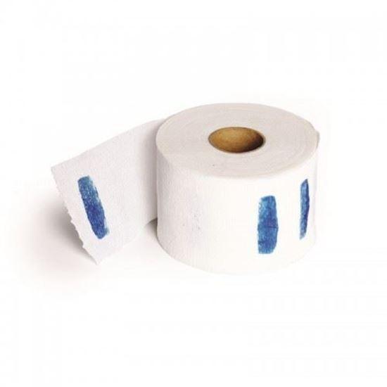 """Изображение Воротнички в рулончиках """"WHITE"""", бумажные, 100 шт."""