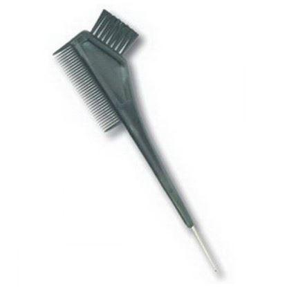 Изображение Кисть с расческой, крючок, черная