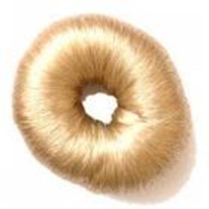 Изображение Валик для причесок, круглый, из искусственного волоса)