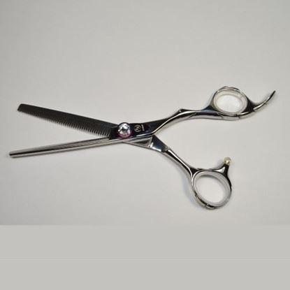 """Изображение Ножницы парикмахерские """"Suntachi"""" (#####№6.0"""", филировочные, тонкие)"""