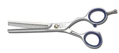 """Изображение Ножницы парикмахерские """"Jaguar"""" (####№5.50"""", Diamond CC 39, филировочные)"""