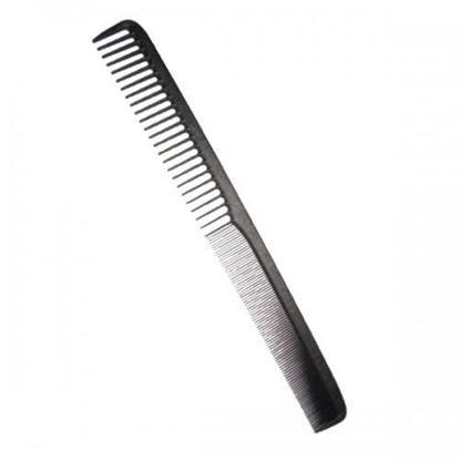 """Изображение  Расческа """"PROFI line"""" (CO-CBN-6067, Carbon, комбинированная, узкая с редким зубом)"""
