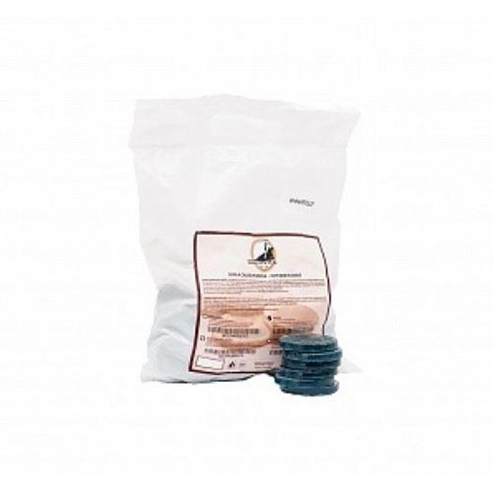 Изображение Воск 1 кг, в дисках, BLUE AZULENE, АЗУЛЕН