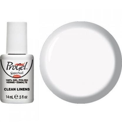 "Изображение Гель-лак ProGel CLEAN LINENS, ""Super Nail"", 14ml."