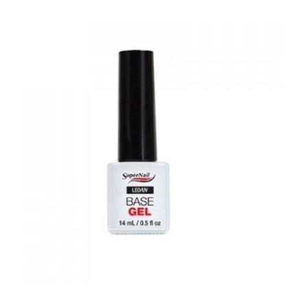 """Изображение Гель с кисточкой """"Super Nail"""", LED/ UV, Base Gel, 14g."""