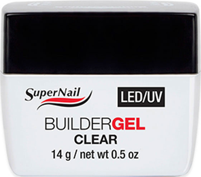 "Изображение Гель ""Super Nail"", LED/ UV, BuilderGEL Clear, 14g."
