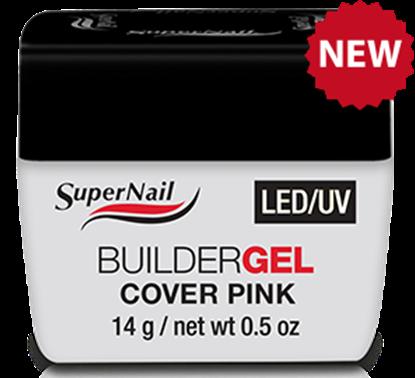 "Изображение Гель розовый ""Super Nail"", LED/ UV, BuilderGEL Cover Pink, 14g."