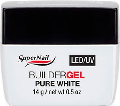 "Изображение Гель ""Super Nail"", LED/ UV, BuilderGEL Pure White, 14ml."