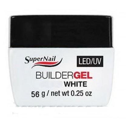 "Изображение Гель ""Super Nail"" LED/ UV, BuilderGEL White, 56g."