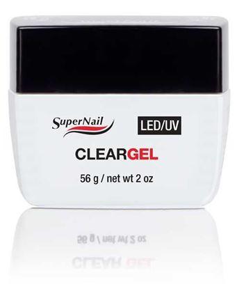 """Изображение Гель прозрачный """"Super Nail"""", LED/ UV, Clear, 56g."""