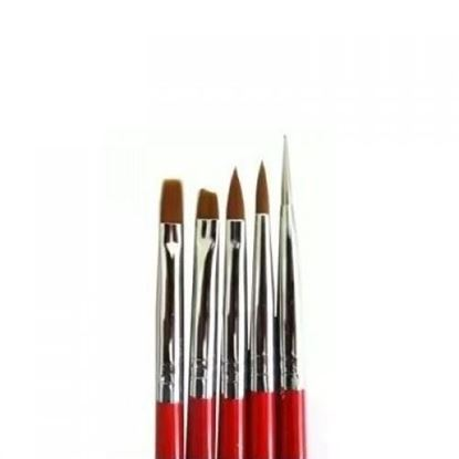 Изображение Набор кистей для дизайна, 5шт.