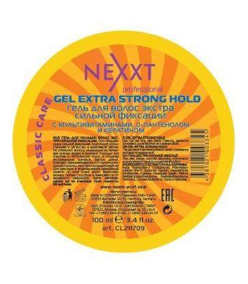 Изображение Гель для укладки волос экстра сильной фиксации, 100 мл.