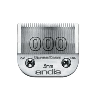 """Изображение """"Andis"""" (лезвие, UltraEdge® Detachable Blade, Size 0.5мм., 000)"""
