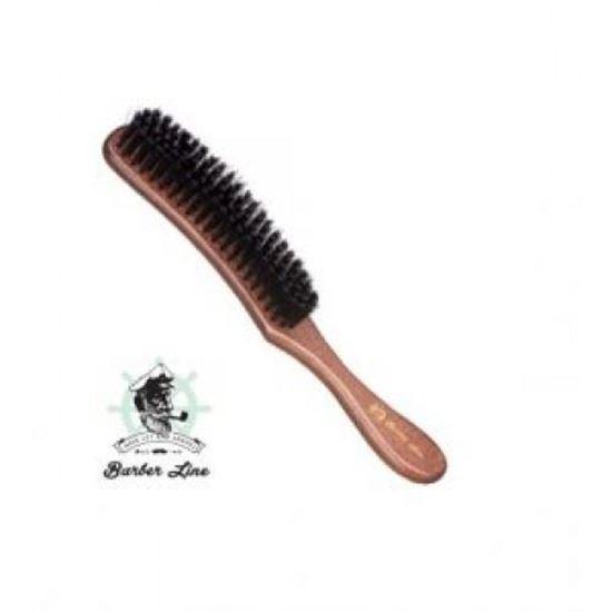 Изображение Barber Line (щетка, натуральная щетина, GORGONAS, изогнутая)