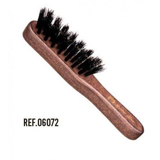 Изображение Barber Line (щетка, натуральная щетина, NEREO, mini с ручкой)