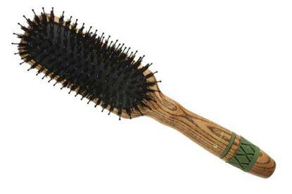 Изображение Щётка массажная Hairway Flexion 11-рядная, прямоугольная, узкая