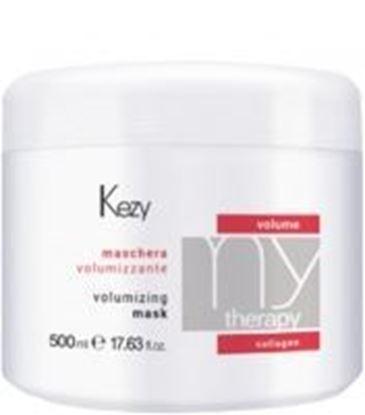 Изображение Kezy MyTherapy Volume Collagen Volumizing Mask - Маска для придания объема с морским коллагеном, 500 мл