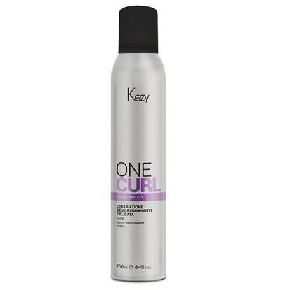 Изображение Kezy One Curl Mild Semi Permanent Wave - Однофазная полустойкая завивка, 250 мл