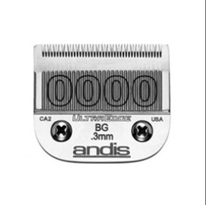"""Изображение """"Andis"""" (лезвие, UltraEdge® Detachable Blade, Size 0.3мм., 0000)"""