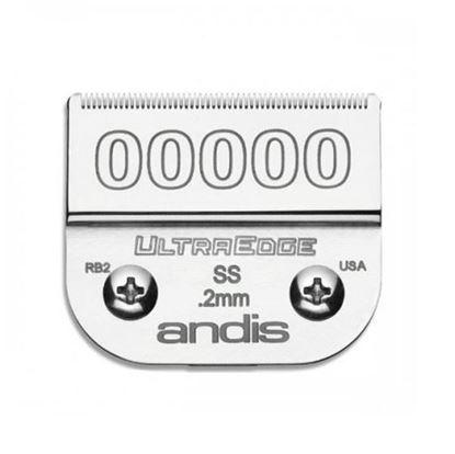 """Изображение """"Andis"""" (лезвие, UltraEdge® Detachable Blade, Size 0.2мм., 00000)"""