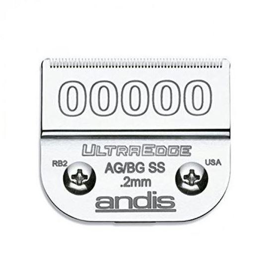 "Изображение ""Andis"" (лезвие, UltraEdge® Detachable Blade, Size 1.2мм., 0A)"