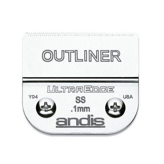 """Изображение """"Andis"""" (лезвие, UltraEdge® Detachable Blade, Size 0.1мм., Outliner®)"""