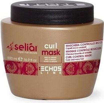 Изображение CURL MASK - Маска для вьющихся волос мед и масло Аргании, 500 мл.