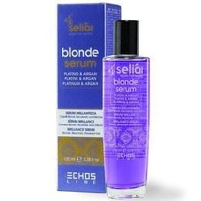 Изображение BLONDE SERUM - Флюид с частицами платины, аргановым маслом, маслом семени льна и УФ фильтром, 100 мл.